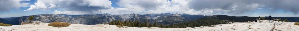 Sentinel Dome panorama