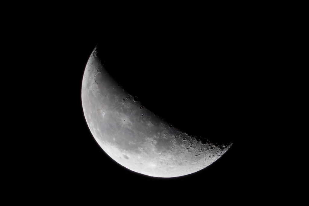 Predawn 36% last quarter moon